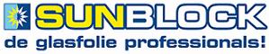 Sunblock Raamfolie Logo